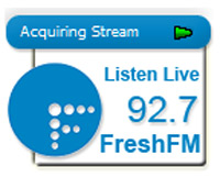 Гаджет радио Fresh 92.7